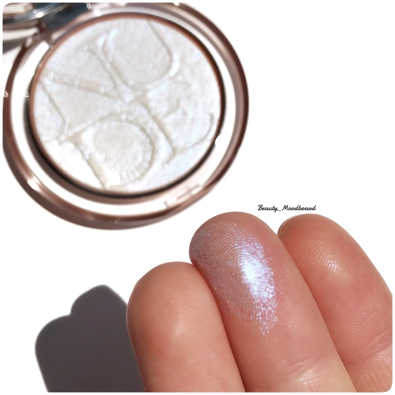 Swatch Diorskin Nude Luminizer Holographic Glow 006 Dior Makeup