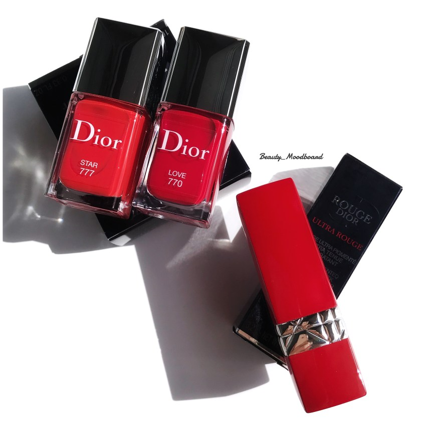 Mon haul Rouge Dior Ultra Rouge