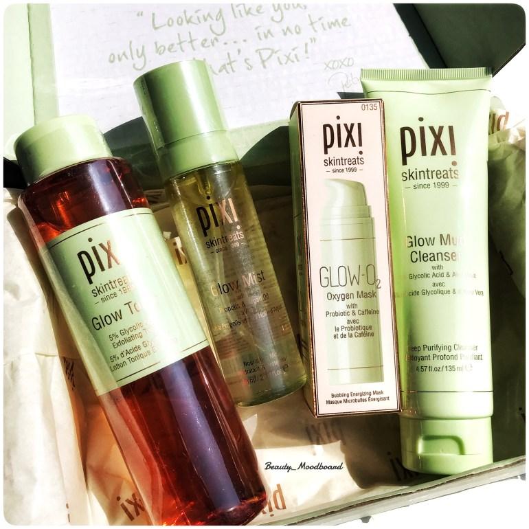 Pixi Skintreats Glow Routine