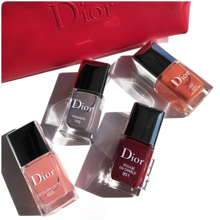 Collection vernis Dior Fall 2018