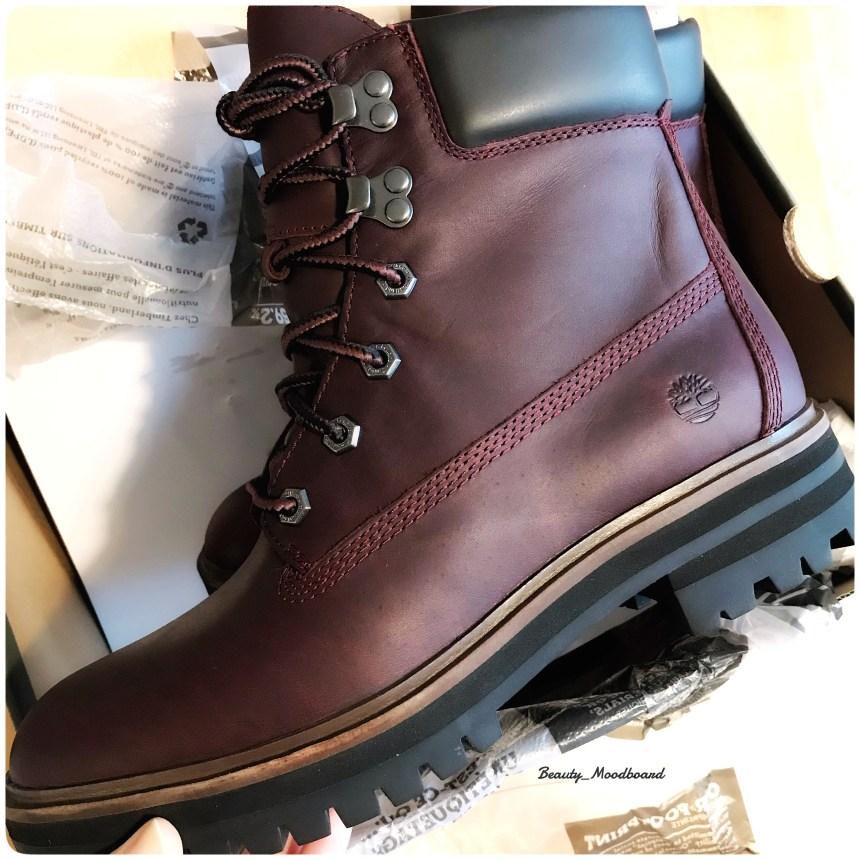 Boots Timberland London Square 6tin Boot couleur burgundy idée cadeau noël Taureau