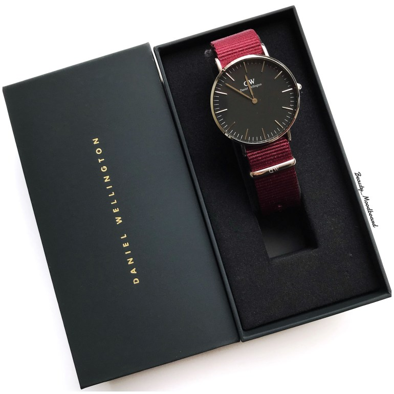 Montre Daniel Wellington Classic Black Roselyn 36mm