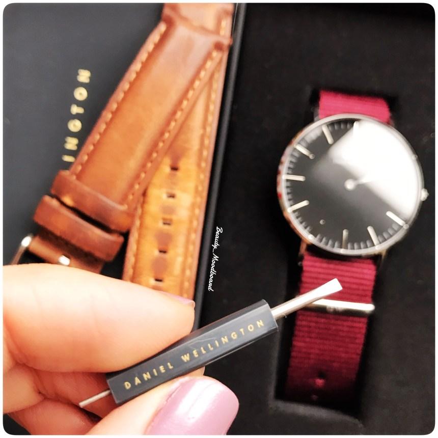 Petit outil pour échanger les bracelets de montres Daniel Wellington