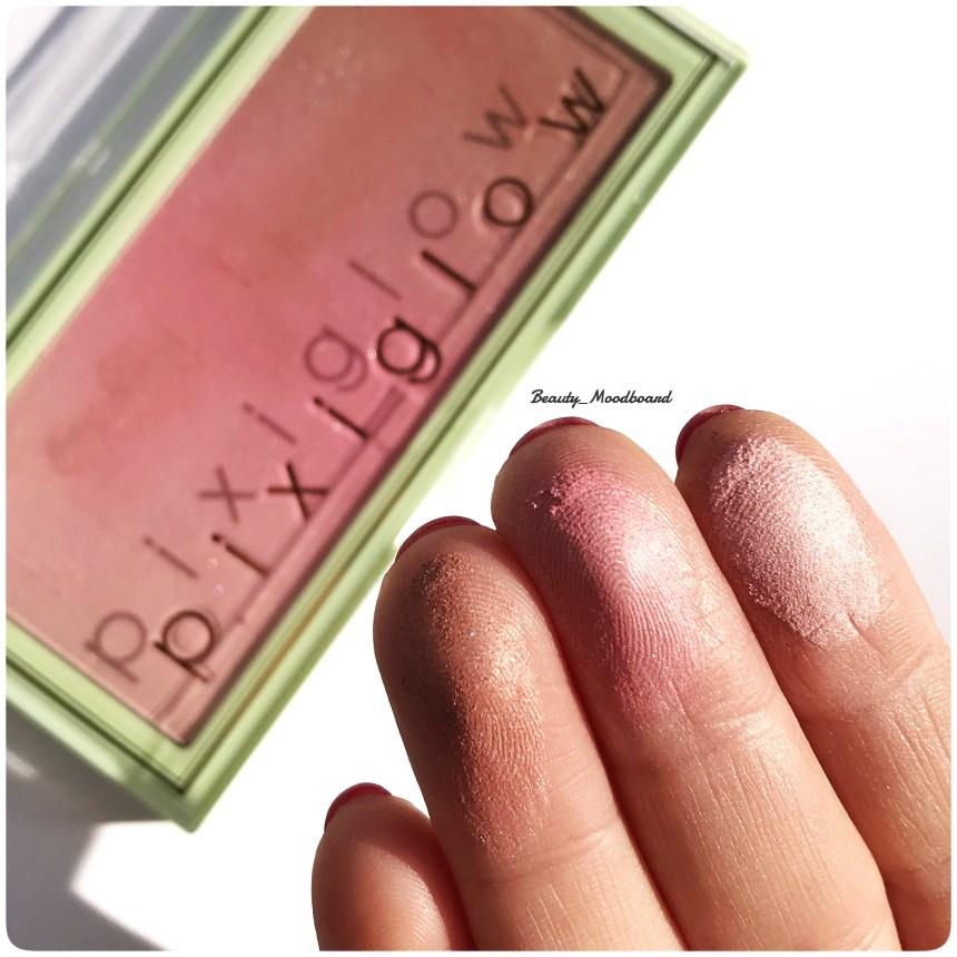 Swatch PinkChampagne Glow Pixi By Petra