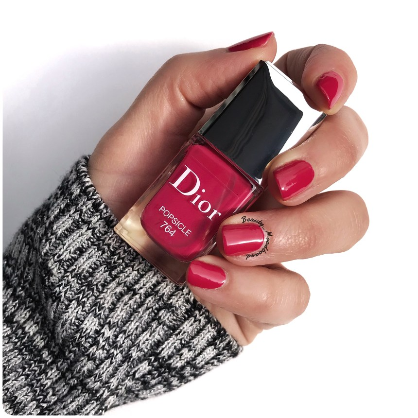 Swatch Dior Vernis Lolli Glow Spring Look 2019 Popsicle 764