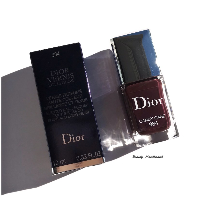 Dior Vernis Lolli Glow Spring Look 2019 Candy Cane 984