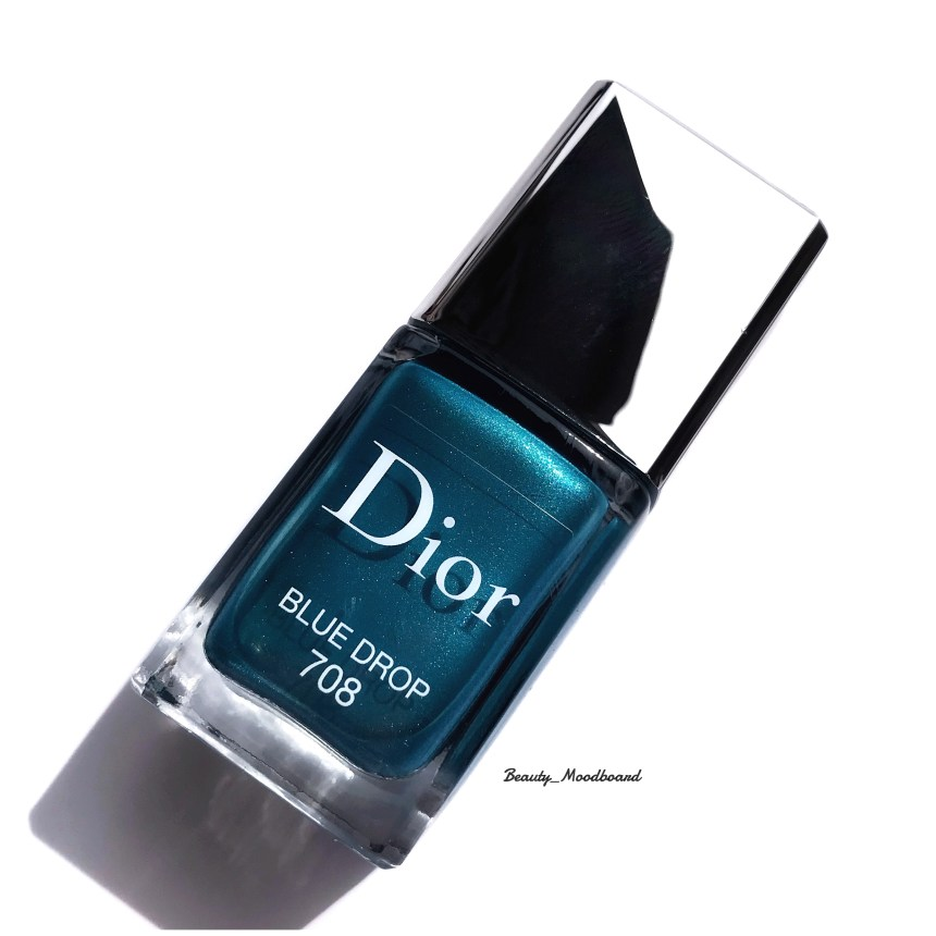 Dior Vernis Blue Drop 708 collection Wild Earth Summer 2019 Beauty HorosKope avril 2019 Capricorne