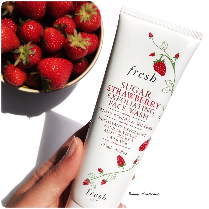 Nettoyant Exfoliant Visage Fresh au sucre et à la fraise nouveauté
