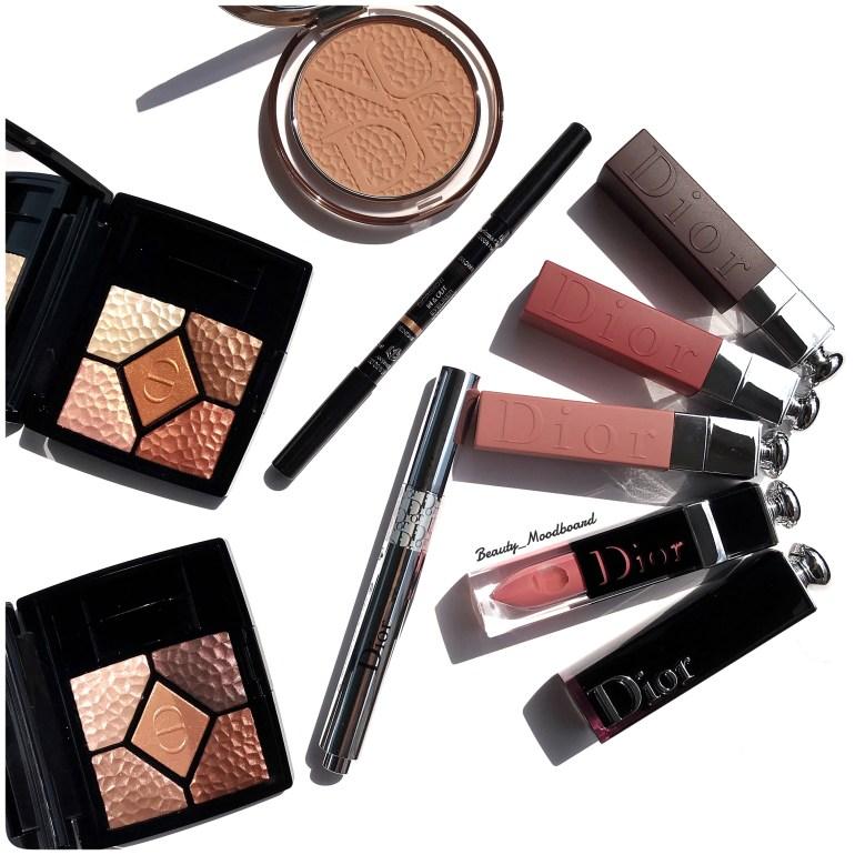 Palettes Regard Bronzer Eyeliner Flash Luminizer Rouges à lèvres Dior été 2019 Wild Earth