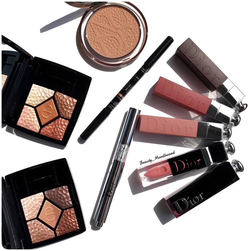 Palettes Regard Bronzer Eyeliner Flash Luminizer Rouges à lèvres Dior été 2019