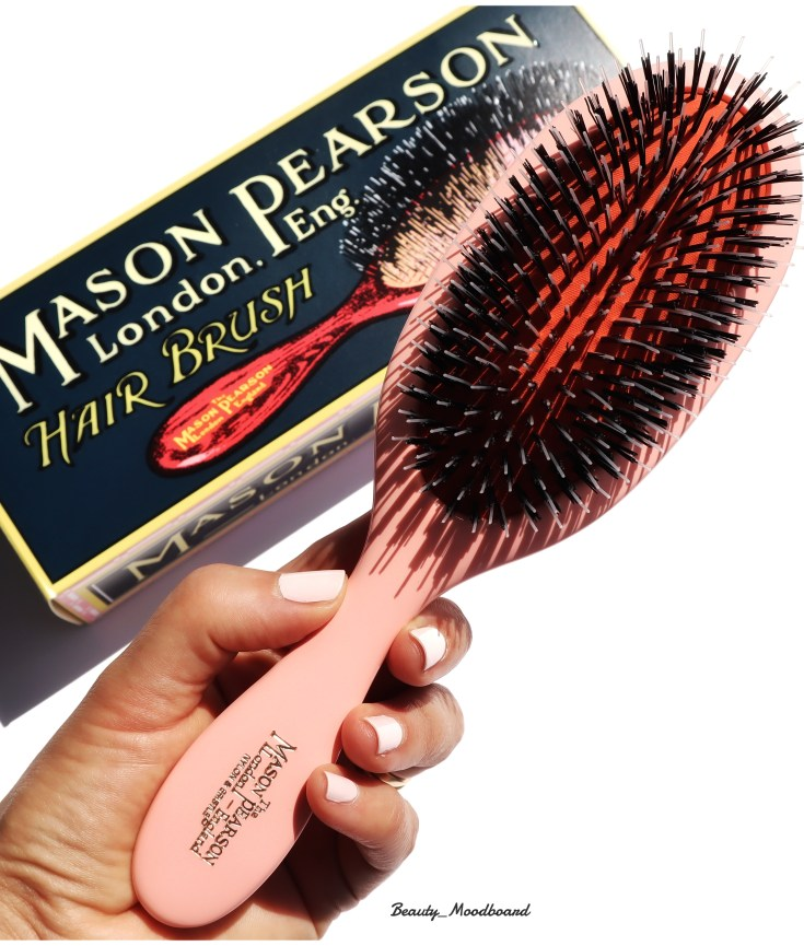 Hair Brush Mason Pearson Handy Mixte Pink