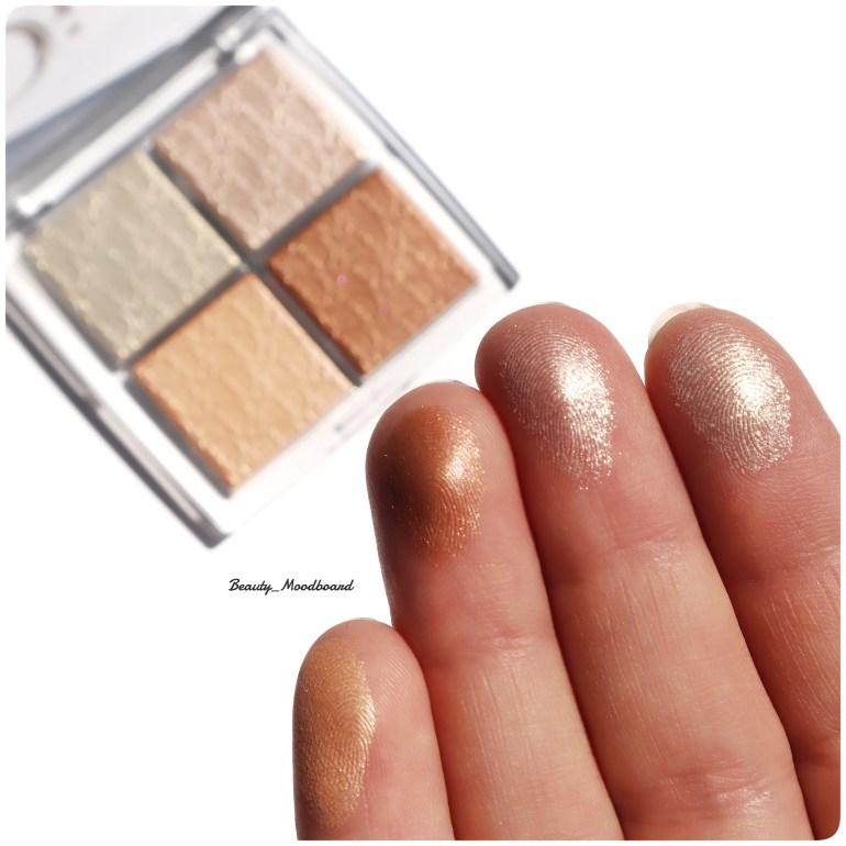 Swatches Dior Backstage Glitz 002 Glow Face Palette
