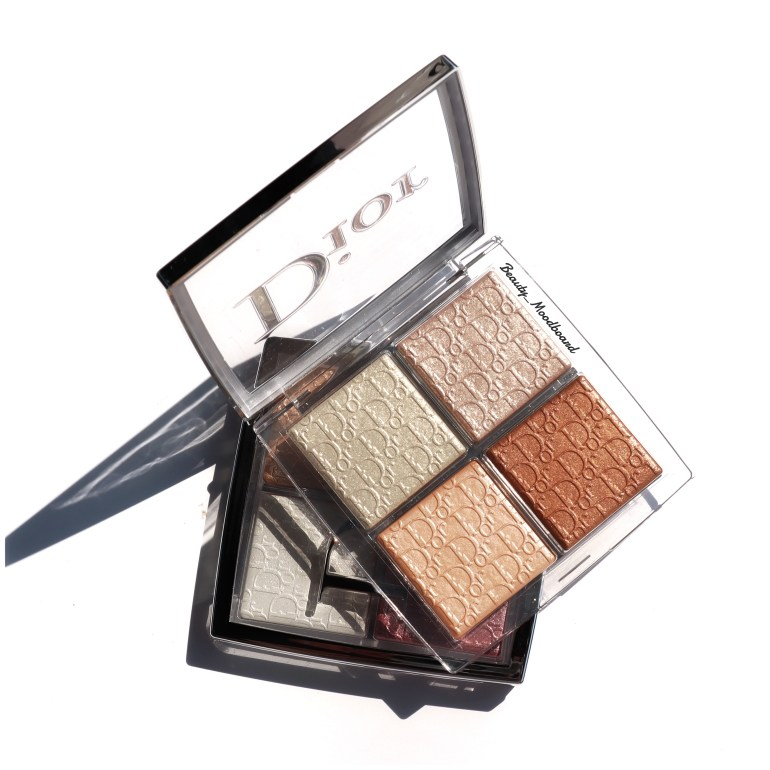 Dior Backstage Glow Face Palette 001 and 002