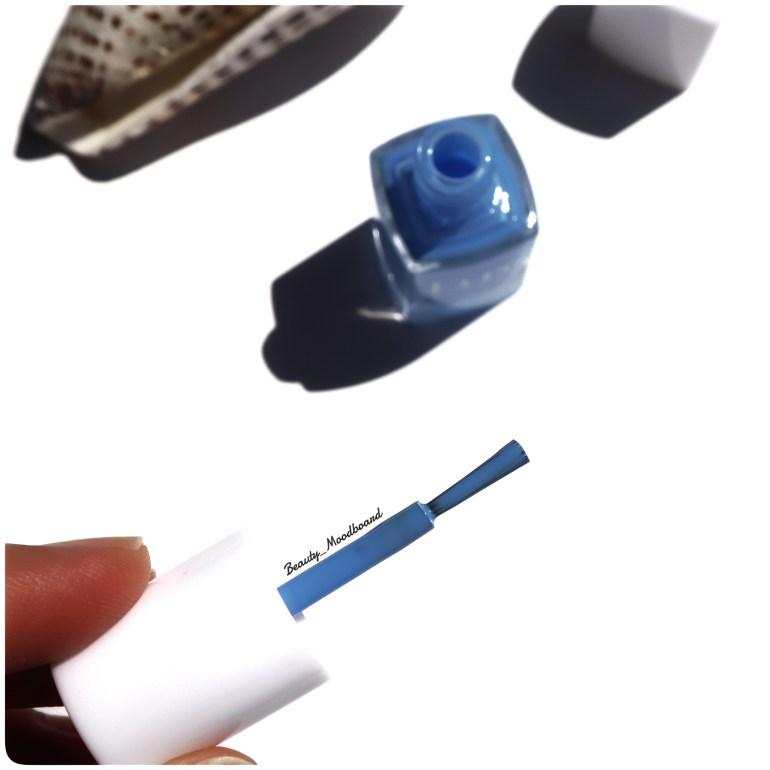 Pinceau fin Vernis Bleu Lavande