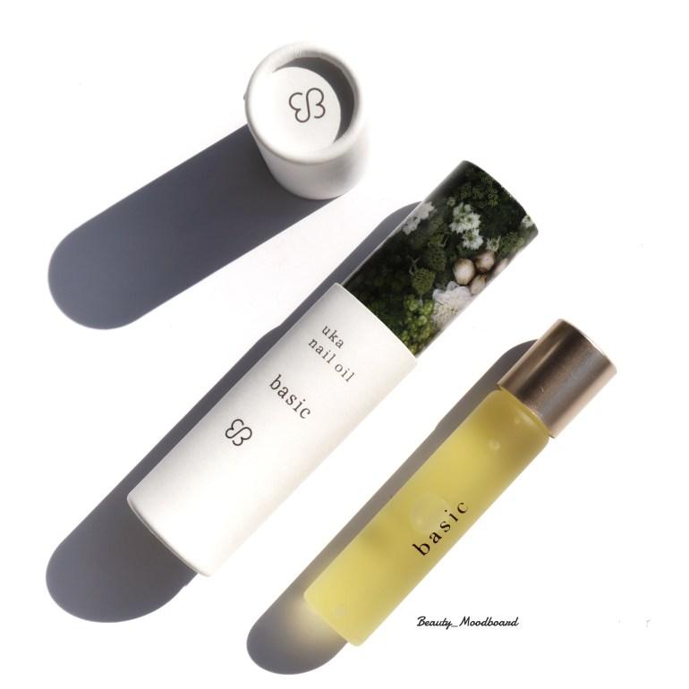 Packaging et roll-on Uka nail oil basic au Pop Up Store Bijo la beauté japonaise