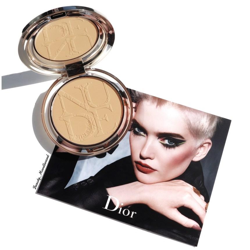 Poudre Dior perfectrice matte effet peau nue teinte medium 003