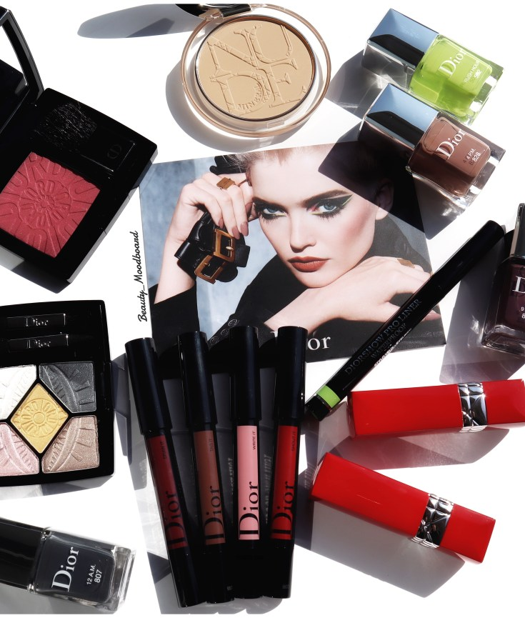 Makeup Collection Dior Power Look Fall 2019 haul