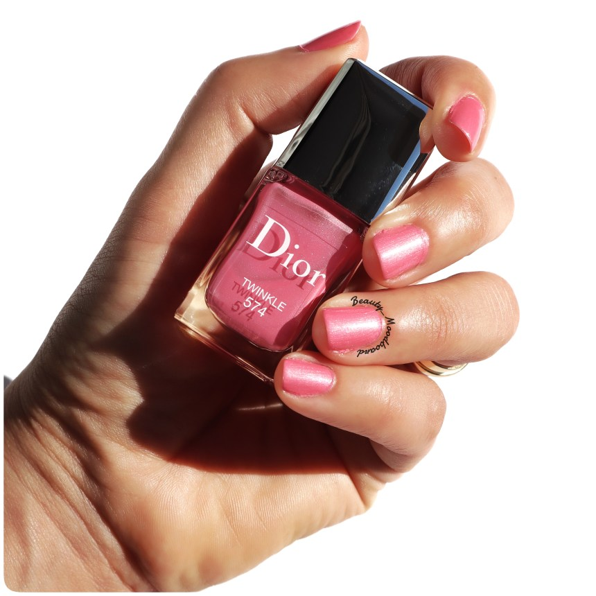 Collection Diorsnow Rising Stars swatch vernis 574