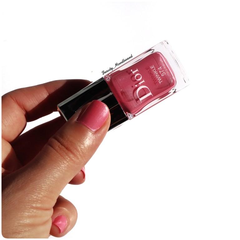 Flacon de vernis ultra brillant et effet longue tenue Dior