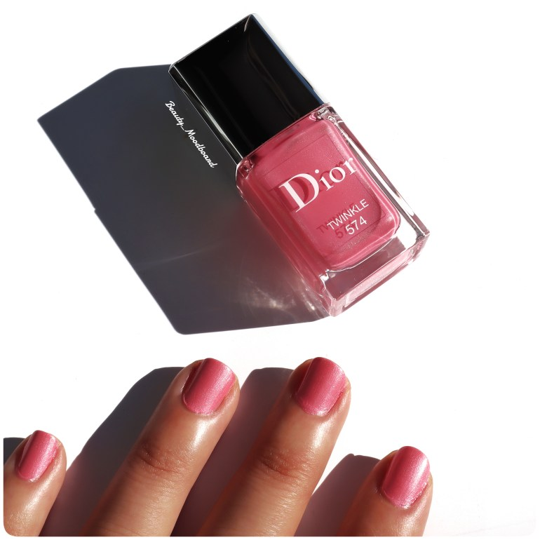 Collection Dior Nail Glow Addict 2019