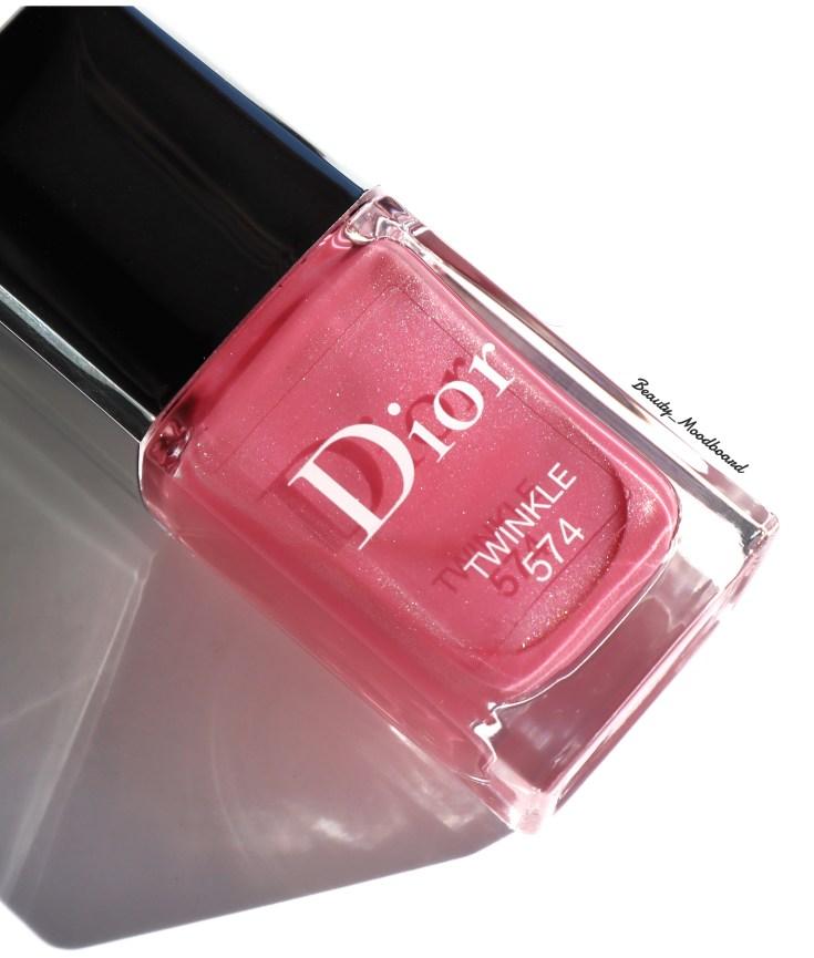 Vernis Dior Twinkle 574 color frozen pink