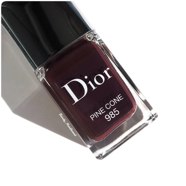 Vernis prune intense Dior