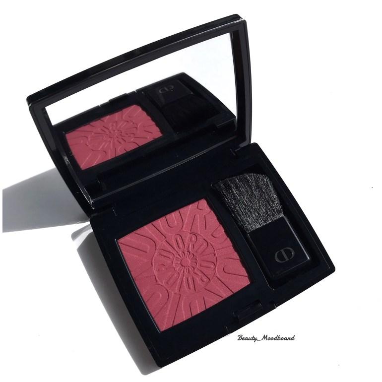 Rouge Blush Dior Confident 783 édition limitée couleur mode prune audacieuse