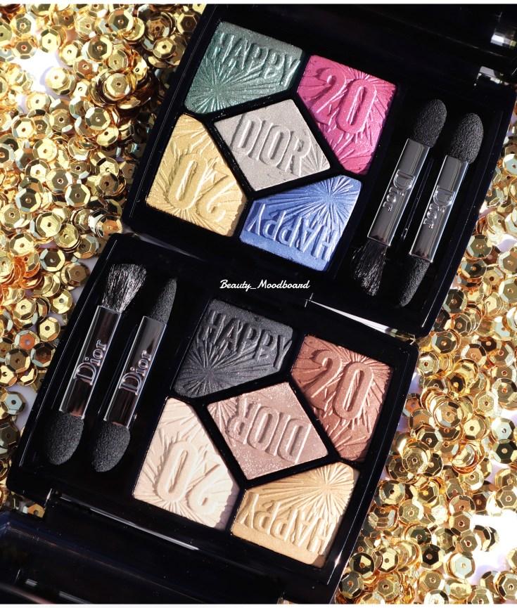 Palettes Regard Dior Makeup Look Noël 2019 édition limitée Happy 2020