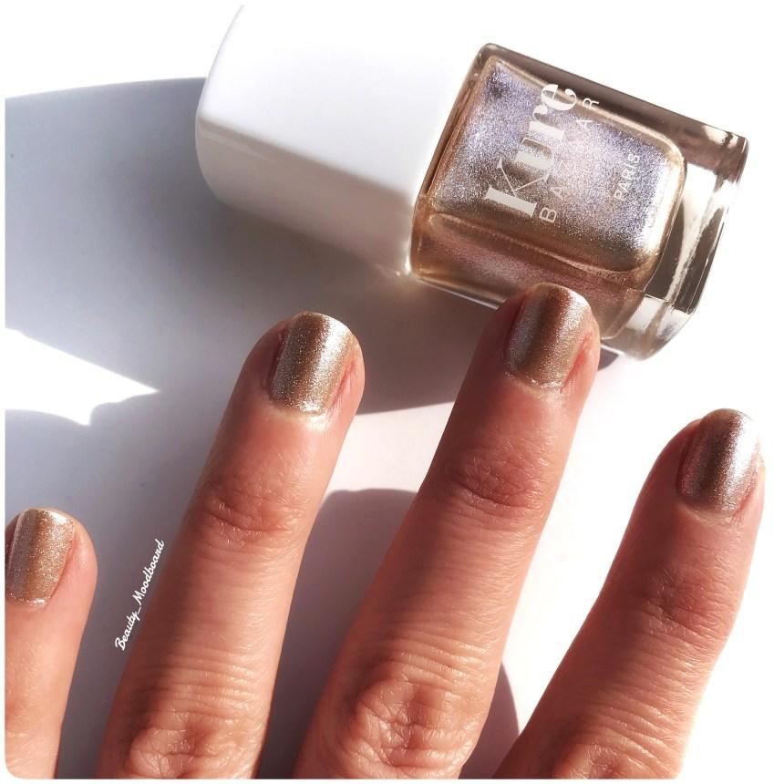 Vernis écologique de couleur bronze perlé