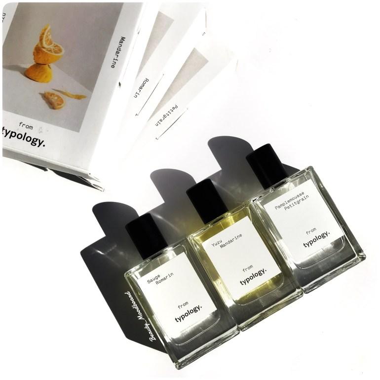 Eaux de parfum naturel layering