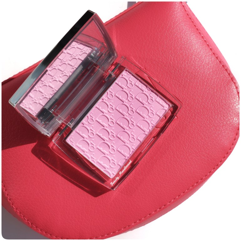 Blush iconique Dior Backastage Rosy Glow Pink 001