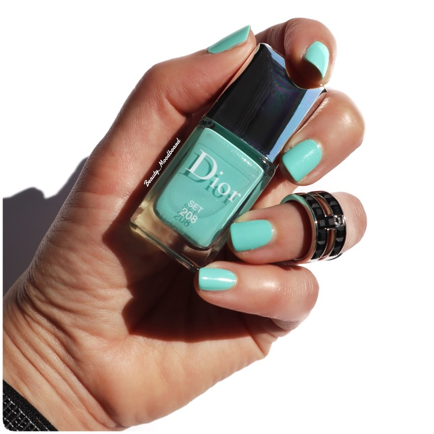 Swatch vernis Dior Set 208 collection été 2020 Color Game