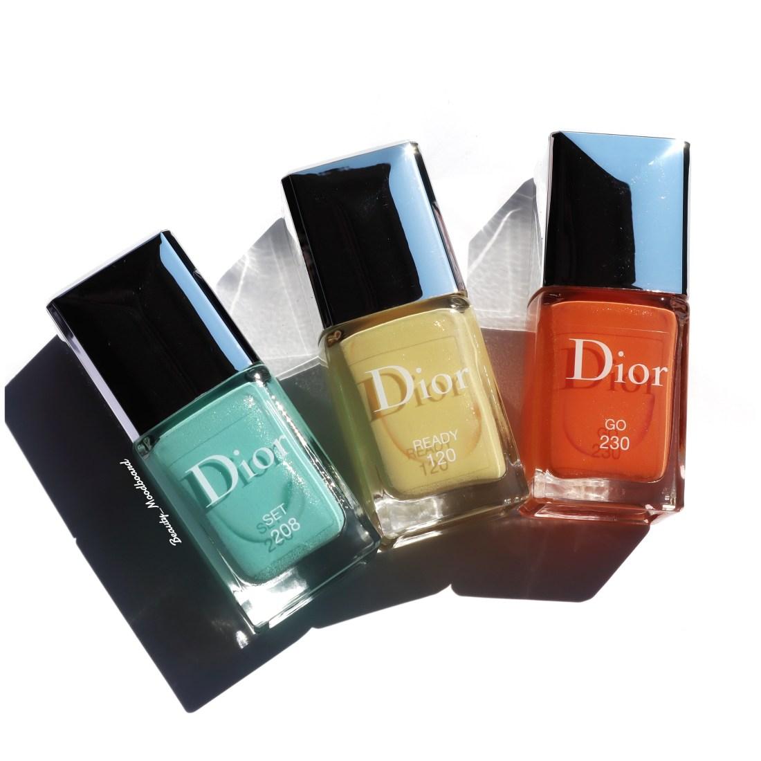 Collection été 2020 Dior Vernis Color Game Swatch
