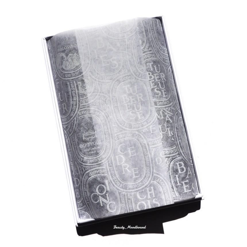 Papier de soie ovale signature Diptyque