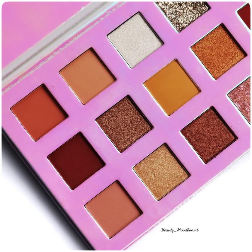 Avis maquillage Sheglam Artistry Palette