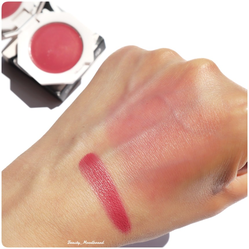 Cream Blush Cheeks Out Freestyle Fenty Beauty Summertime Wine 08 Swatch