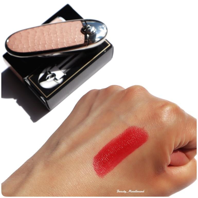 Swatch Rouge G de Guerlain N°25