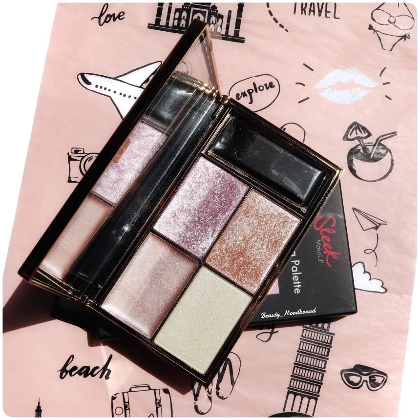 Sleek Makeup Highlighting Palette Solstice Glossybox Juin 2020 World of beauty