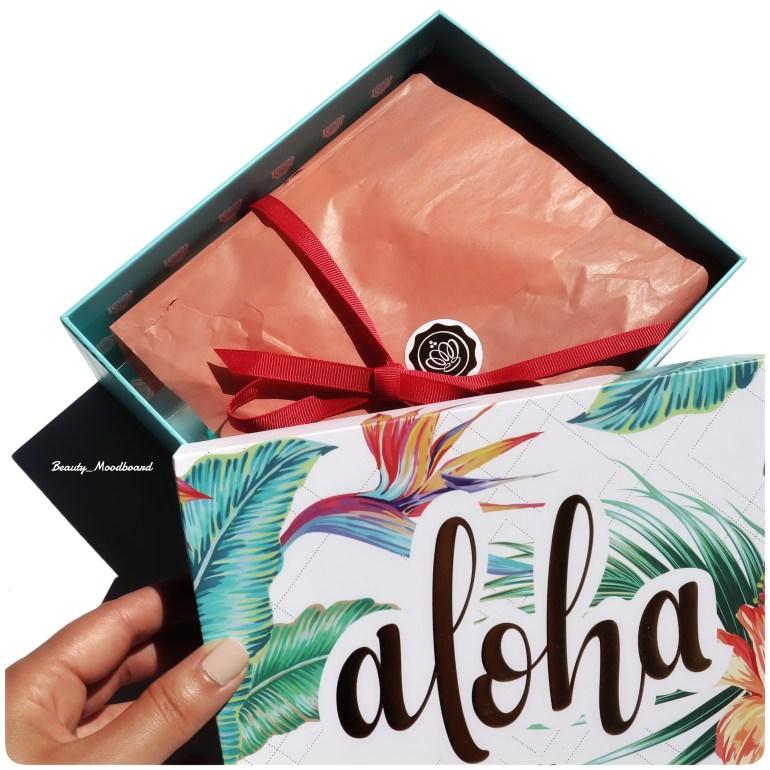 Glossybox juillet 2020 Aloha
