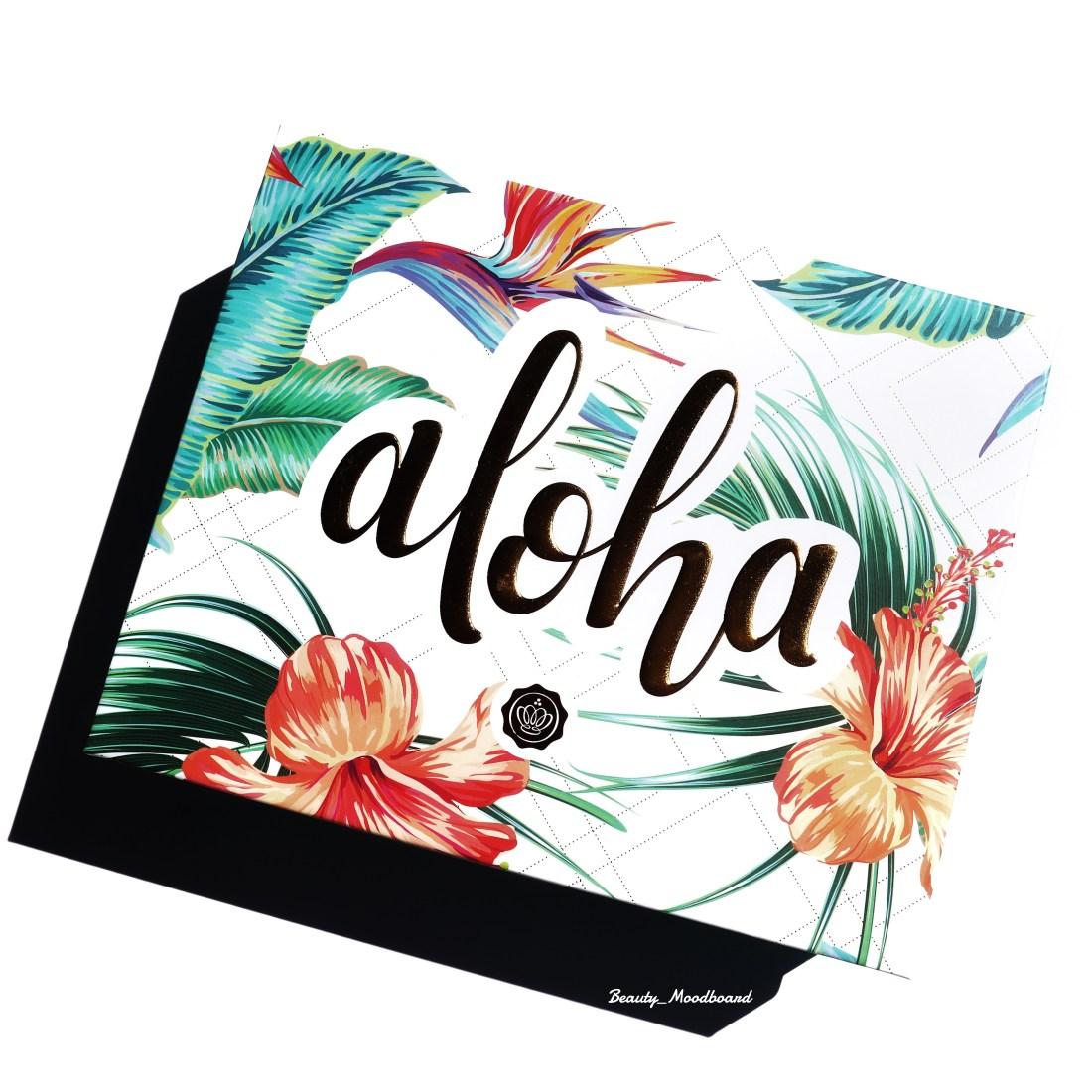 Avis Glossybox Juillet 2020 Aloha