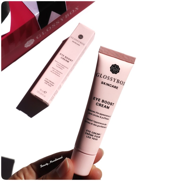 Eye Boost Cream GLOSSYBOX Skincare édition Anniversaire Août 2020