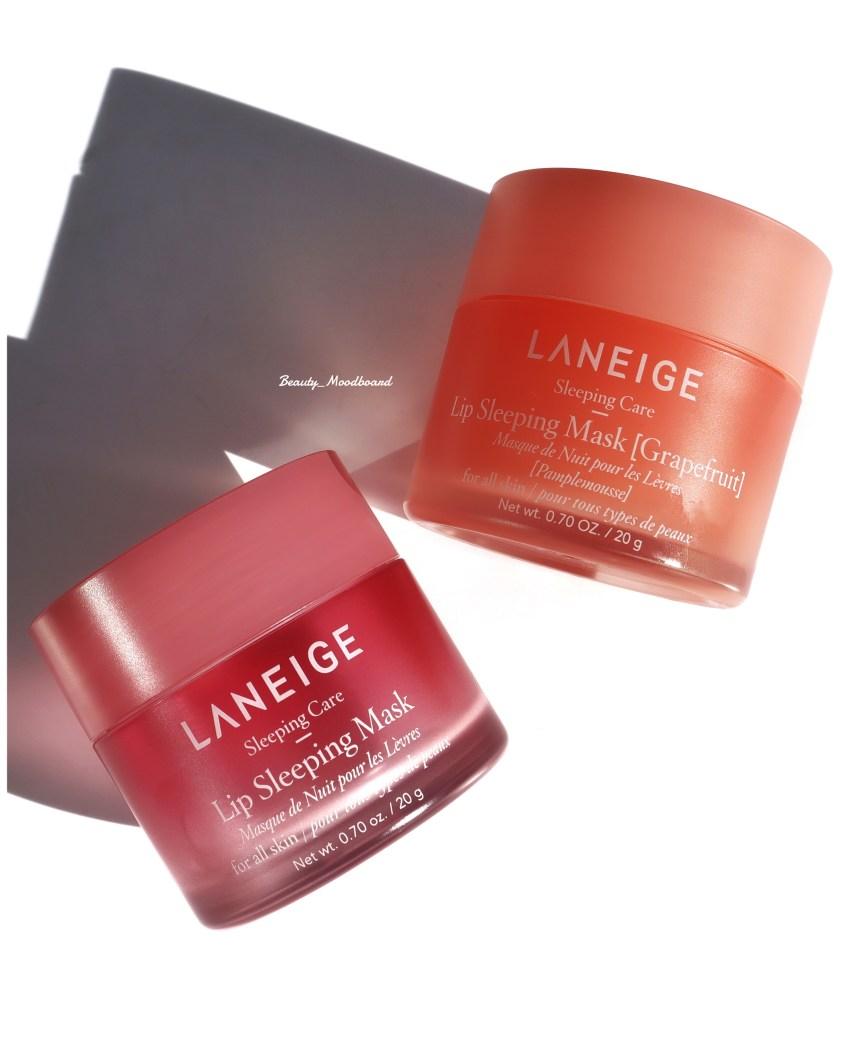 Laneige Lip Sleeping Mask Fruits rouges et Pamplemousse