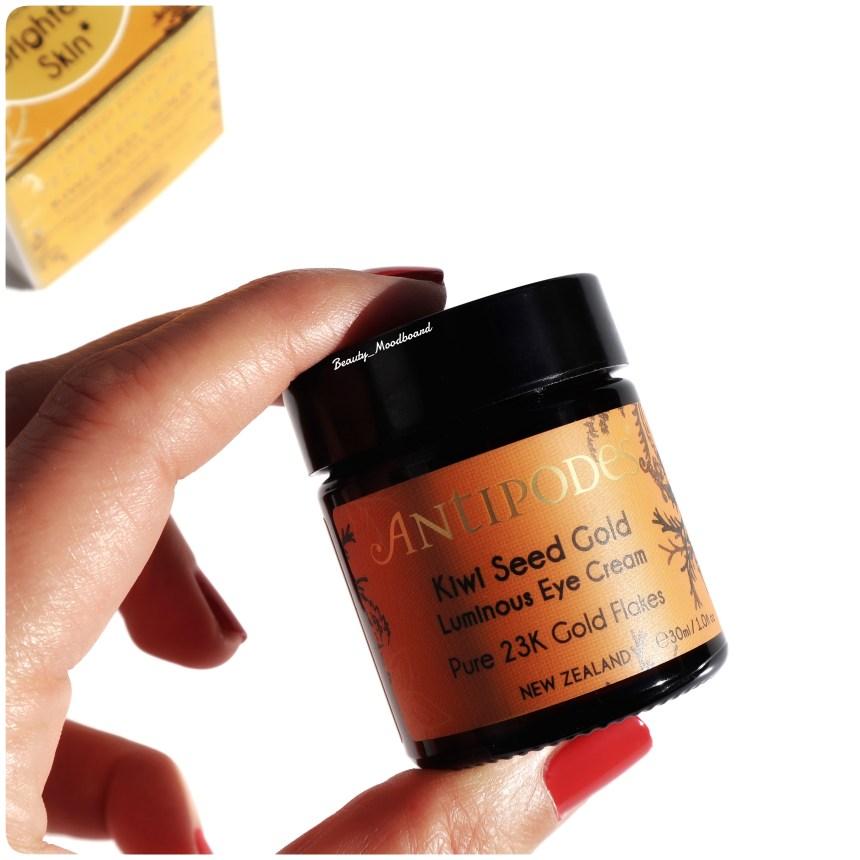 Contour des Yeux Crème Lumière Kiwi Seed Gold Antipodes
