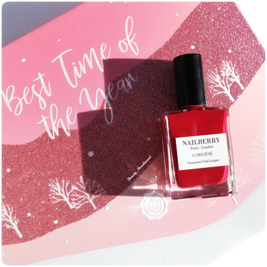 Vernis à ongles Nailberry Glossybox Décembre 2020