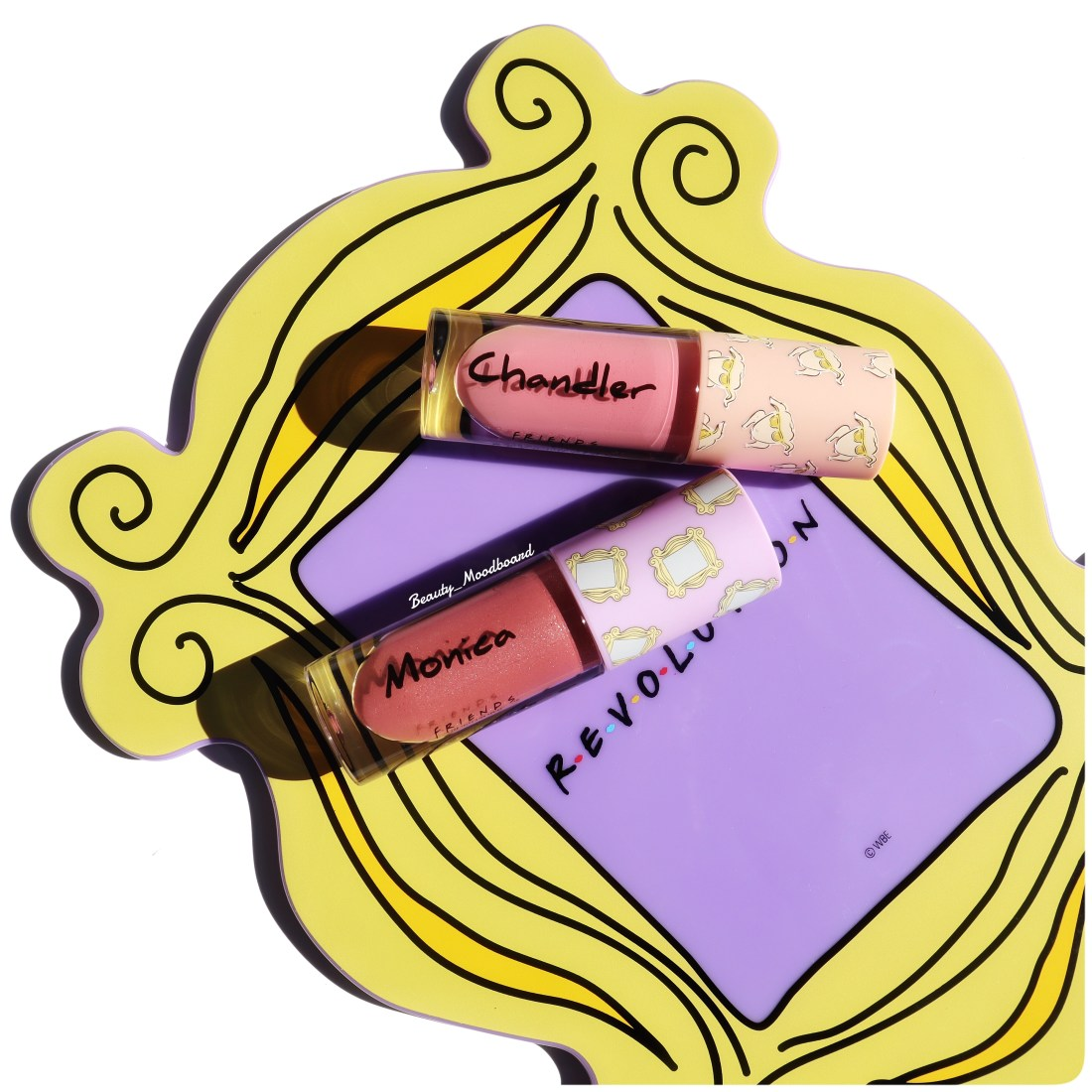 Friends x Makeup Revolution Miroir et Lip Gloss