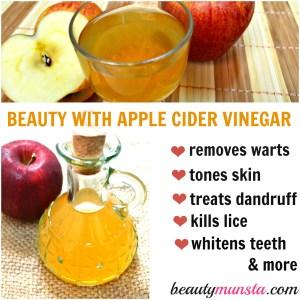 20 Beauty Benefits of Apple Cider Vinegar