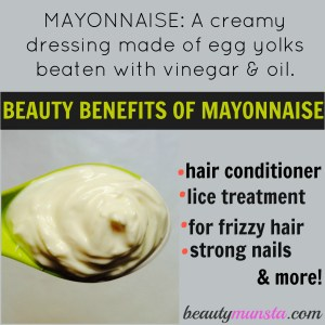 9 Beauty Benefits of Mayonnaise