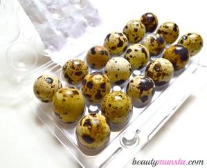 7 Beauty Benefits of Quail Eggs