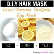 3 egg hair mask recipes gorgeous