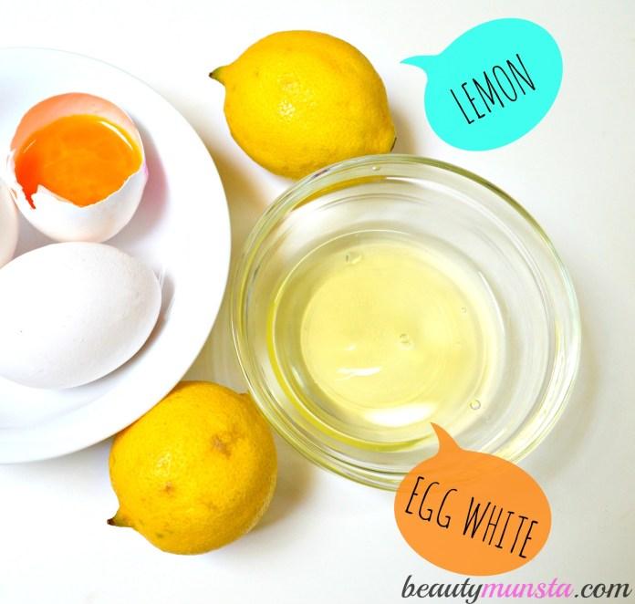 Image result for egg whites and lemon